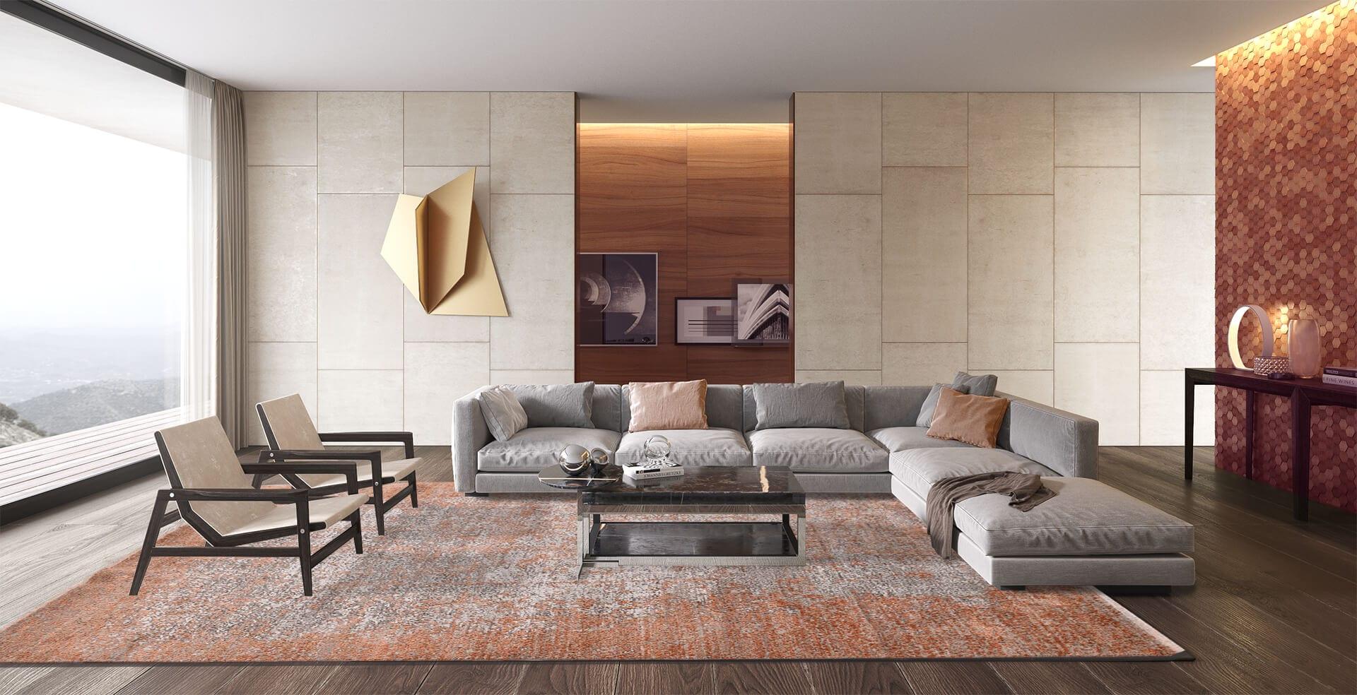 bentayga-design-tapijt-luxe-moderne-exclusieve-design-tapijten-luxe-vloerkleden-zijde-roest-goud-oranje-creme-300x241-koreman-maastricht-interieur