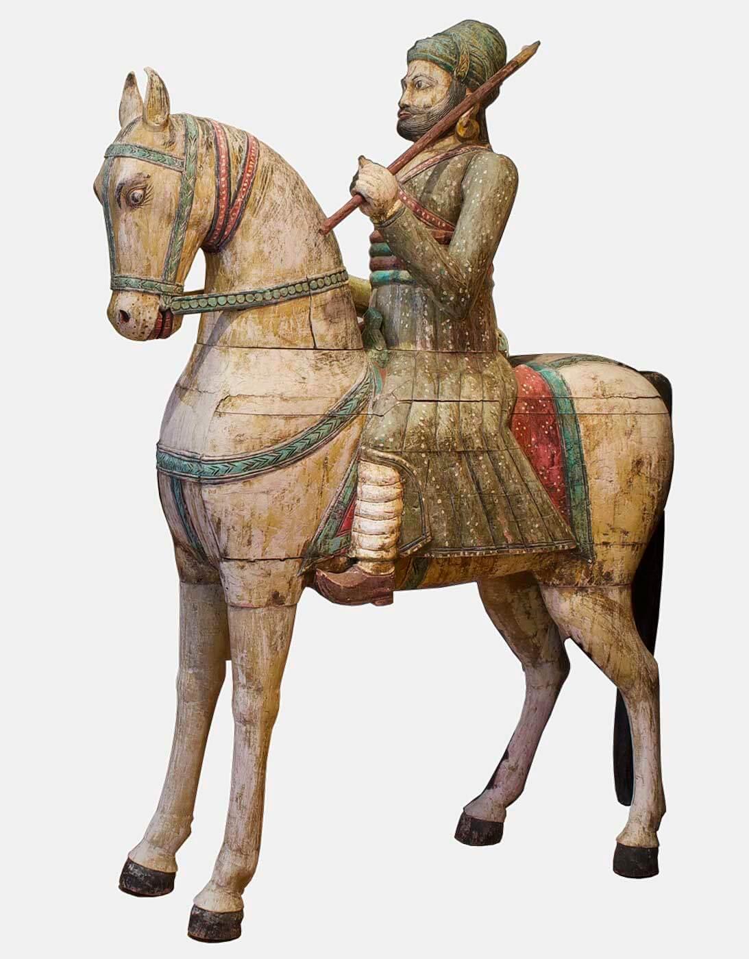 originele-krijger-op-paard-uit-india-oosterse-meubelen-indiase-meubels-koreman-maastricht
