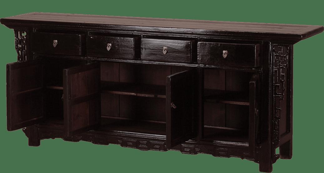 oud-chinees-dressoir-oosterse-meubelen-open deurtjes