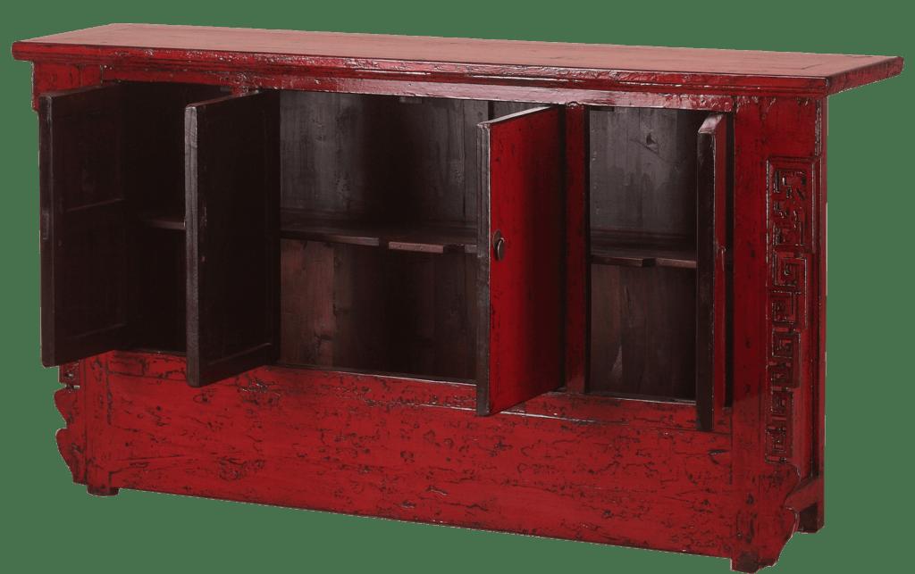 oud-chinees-dressoir-oosterse-meubelen-chinese-meubels-luxe-exclusieve-meubels-rood open deur