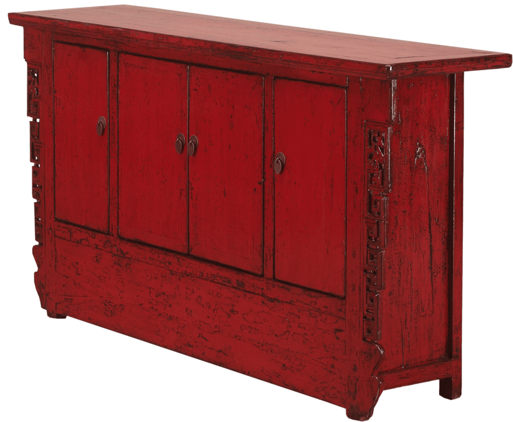 oud-chinees-dressoir-oosterse-meubelen-chinese-meubels-luxe-exclusieve-meubels-rood schuin rechts