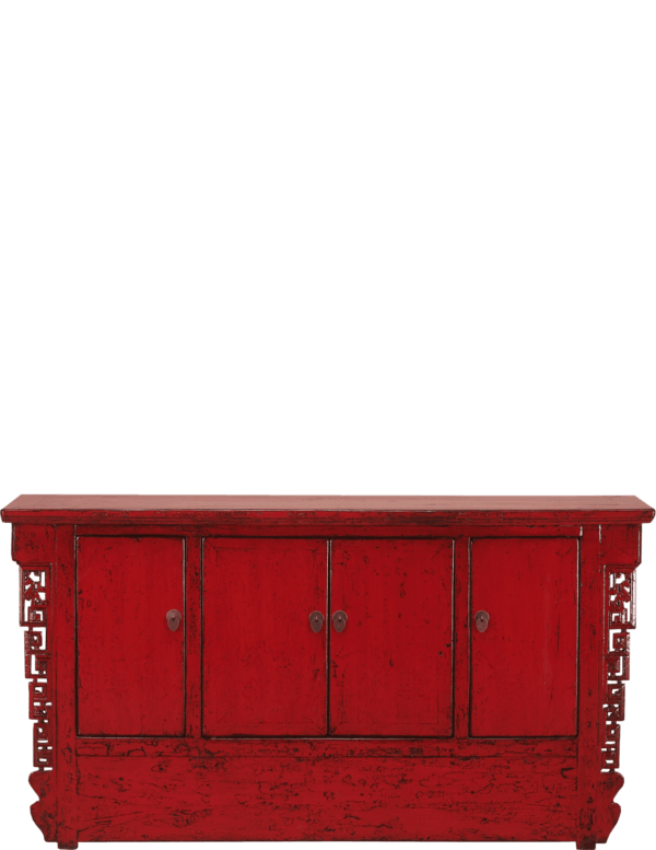 oud-chinees-dressoir-oosterse-meubelen-chinese-meubels-luxe-exclusieve-meubels-rood voorkant afstand