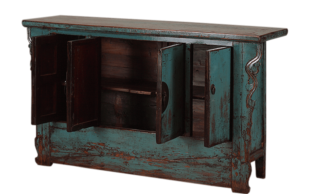 oud-chinees-dressoir-oosterse-meubels-chinese-meubelen-china-openstaande deurtjes