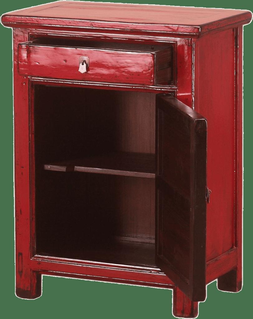 oud-chinees-kastje-oosterse-meubelen-chinese-meubels-deur open
