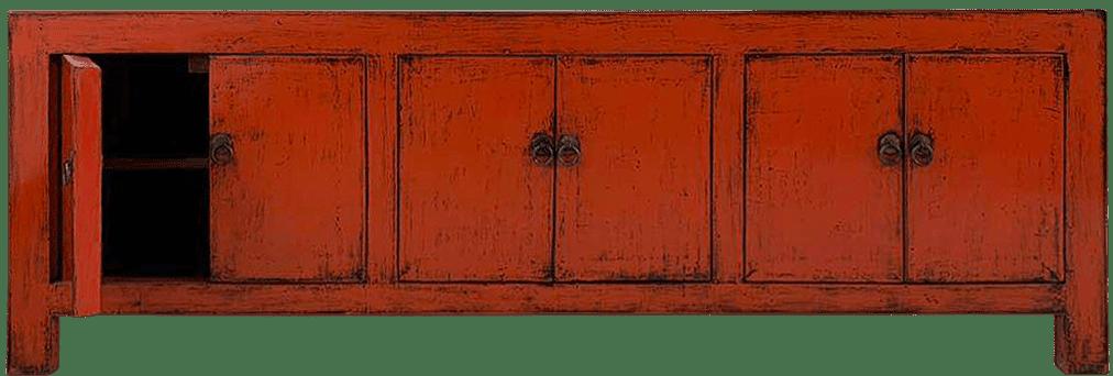 oud-chinees-tv-meubel-oosterse-meubels voorkant deur open