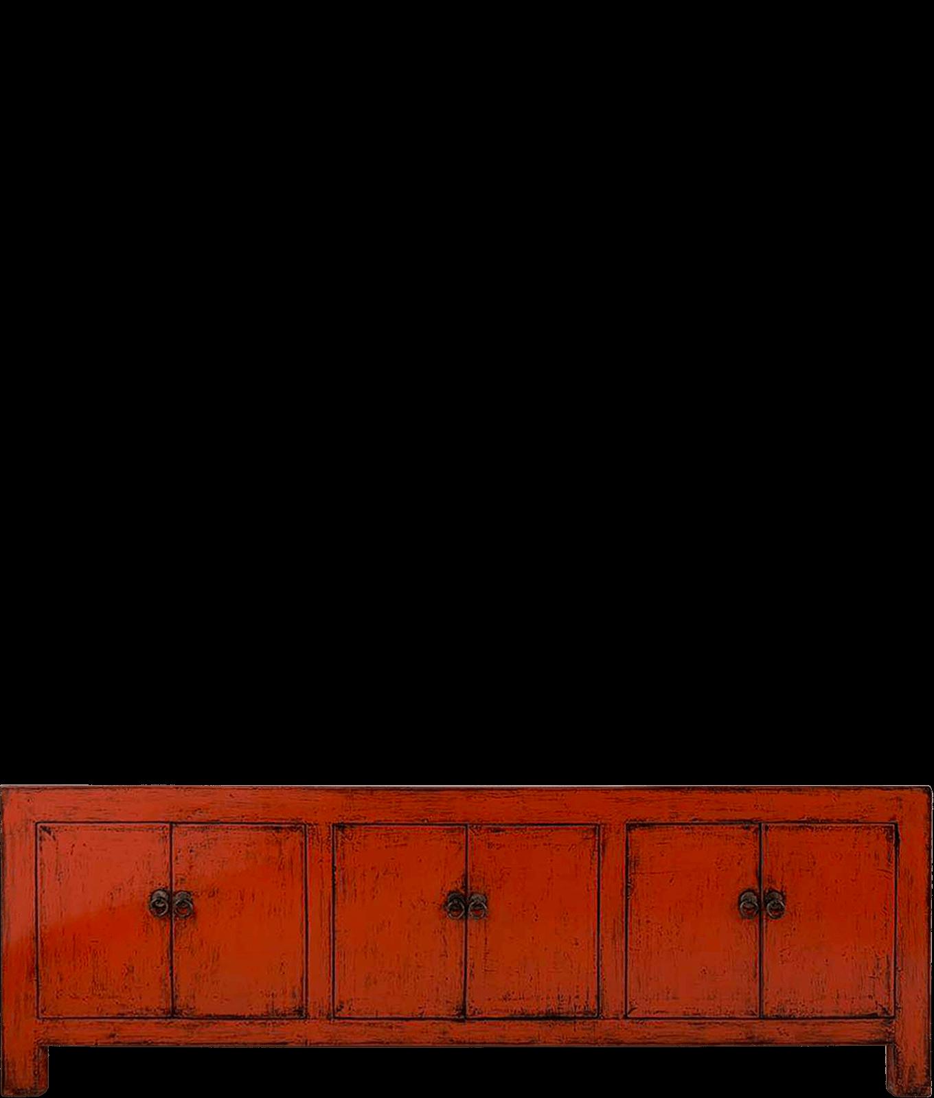 oud-chinees-tv-meubel-oosterse-meubels voorkant detail