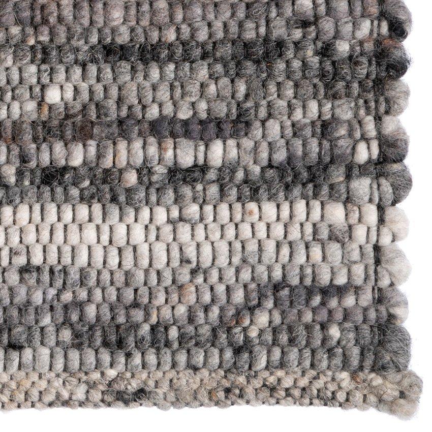 LO-04 tapijt modern flatweave grijs koreman maastricht detail