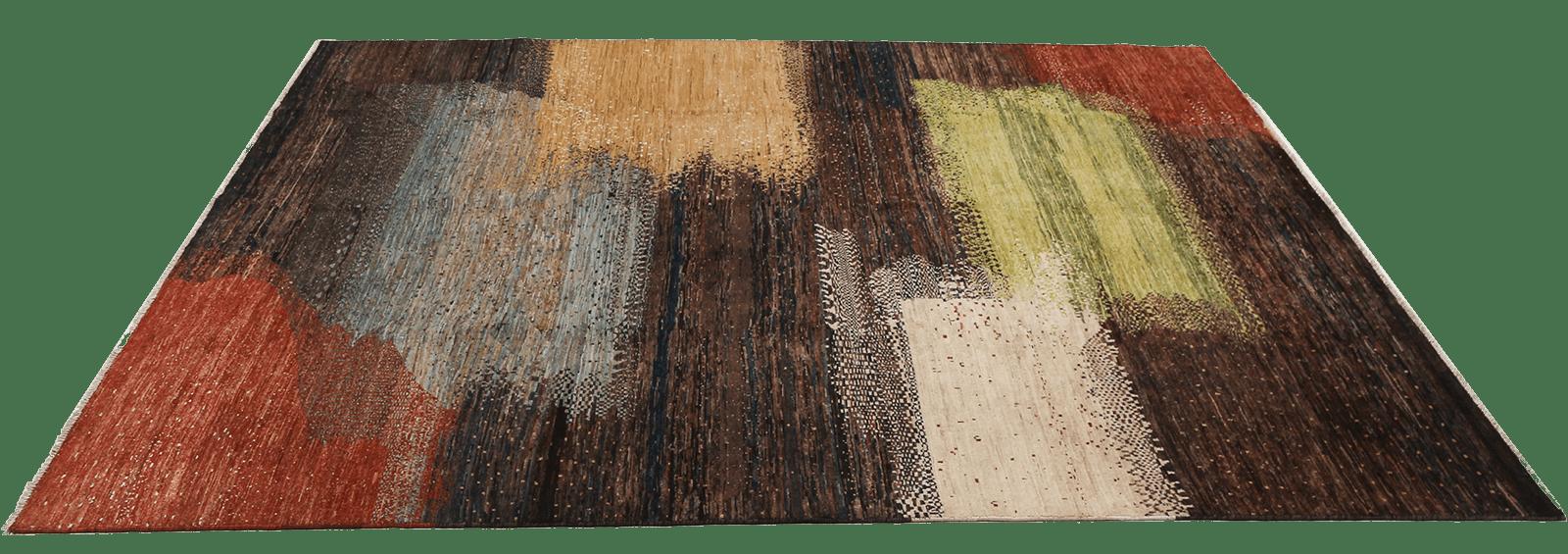 kashkuli-dark-rainbow-tapijt-moderne-oosterse-perzische-tapijten-luxe-exclusieve-vloerkleden-koreman-maastricht