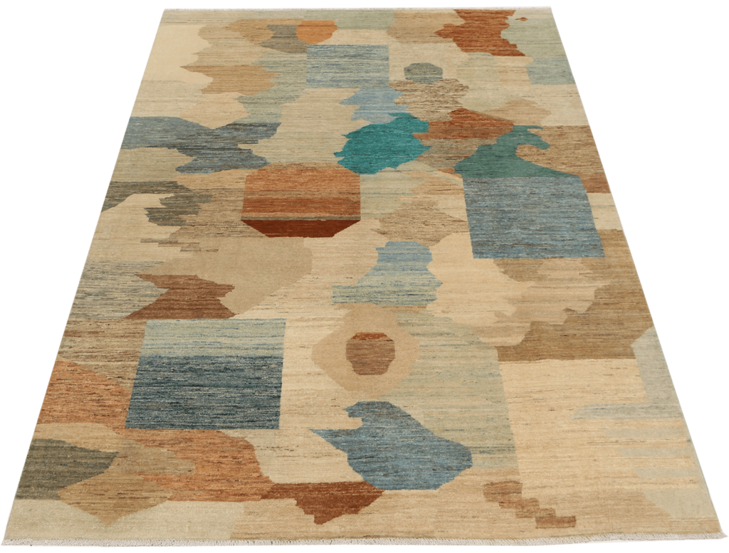 kashkuli-geometric-puzzle-tapijt-moderne-perzische-tapijten-luxe-exclusieve-vloerkleden-koreman-maastricht