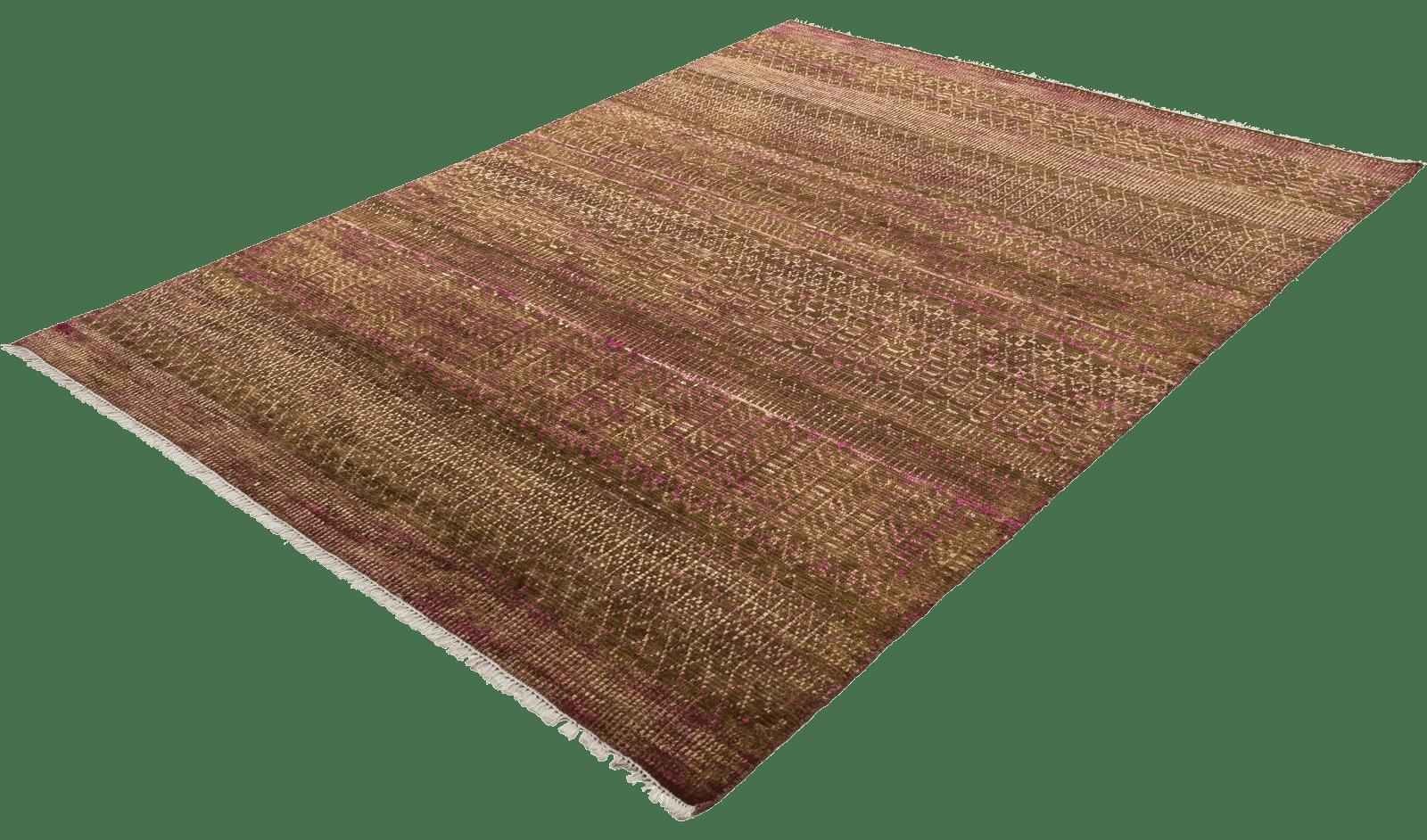 sari-silk-tribal-brown-tapijt-moderne-tapijten-handgeknoopte-design-exclusieve-luxe-vloerkleden-koreman-maastricht